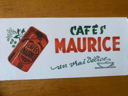 2 BUVARDS CAFE MAURICE - Café & Té