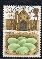 APR1669 - GRAN BRETAGNA 1993, Unificato 33p. Usato N. 1646 (Yv 1648) (2380A) CIGNO - 1952-.... (Elizabeth II)