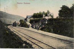 1913 - RAMZOVA  Ramsau  Okres JESENIK , Gute Zustand, 2 Scan - Czech Republic