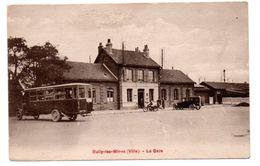 Bully Les Mines - La Gare  -  Autobus - RARE -  CPA ° - Sonstige Gemeinden