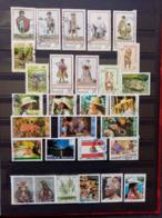 POLYNESIE.1983 à 1987 . LOT De 29 Timbres ( Dont 3 Neufs ). Côte Yvert 20,35 € - Used Stamps