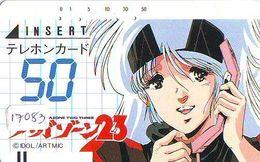 Télécarte Japon * 110-3325 *  MANGA *  * ANIME Japan (17.083) FRONT BAR Phonecard Balken TK - BD