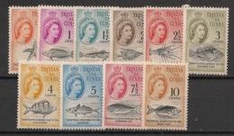Tristan Da Cunha - 1961 - N°Yv. 42 à 51 - Poissons / Fishes - Neuf Luxe ** / MNH / Postfrisch - Fische