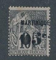 DP-197: MARTINIQUE:  Lot Avec N°10 Obl Signé - Martinique (1886-1947)