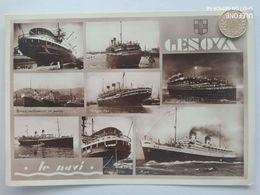 Genova, Navi Passeggeri, Augustus,Rex ,Roma, 1938 - Genova (Genua)