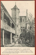 21-La Bourgogne Historique- N° 13- DIJON ANCIEN- Intérieur De Cour D'un Ancien Manoir,Rue Du Griffon   Scans Recto Verso - Dijon