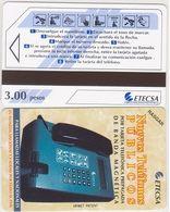 138/ Cuba; Urmet, P1. Wall Telephone, 3 Pesos - Cuba