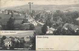 1908 - Lomnice U Rymarova  Lobnig  Okres BRUNTAL , Gute Zustand, 2 Scan - Czech Republic