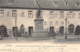 COLMAR (68-Haut Rhin) Musée Unterlinden Statue Pfeffel-Editions NELS, Série 303 N° 10 Bruxelles 2 SCANS - Colmar