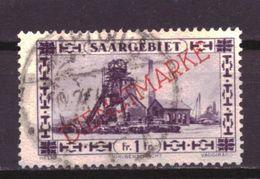 Saargebiet Dienst 31 Used (1929) - Deutschland