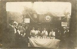 - Manche -ref-B444- Coutainville - Carte Photo à Identifier - Stand Loterie - Fête - Fêtes - - Autres Communes