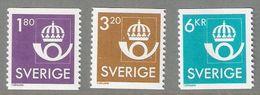 Sweden 1987 Post Emblem, Mi 1420-1422  MNH(**) - Neufs