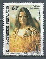 Polynésie Française YT N°334 Danseuse Oblitéré ° - French Polynesia
