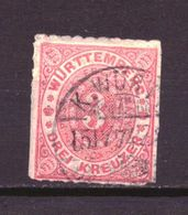 Wurttemberg 38 Used (1869) - Wurtemberg