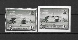 BELGIO - 1941 - N. 537A/37B** (CATALOGO UNIFICATO) - Ongebruikt
