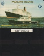 152/ Falkland Islands; Queen Elizabeth II., 3CWFA - Falkland