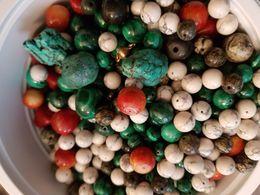 Lot De Perles En Pierres Semi-précieuses - Jewels & Clocks