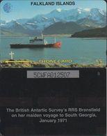155/ Falkland Islands; Ship, 5CWFA - Falkland