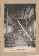 Dept 33 : ( Gironde ) Montalivet-les-Bains, Interieur De La Chapelle Sainte-Marie. - France