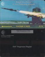 157/ Falkland Islands; Missile, 59CFKA - Falkland