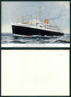 BARCOS SHIP BATEAU PAQUEBOT STEAMER [BARCOS # 03071 ] - ROYAL MAIL - DRINA - Steamers