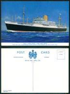 BARCOS SHIP BATEAU PAQUEBOT STEAMER [BARCOS # 03075 ] - ROYAL MAIL - LOCH LOYAL - Steamers