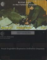 158/ Falkland Islands; Pyrotechnist, 59CFKB - Falkland