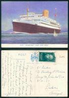 BARCOS SHIP BATEAU PAQUEBOT STEAMER [BARCOS # 03086 ] - ROYAL MAIL - ALCANTARA - Steamers