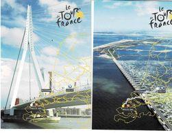 3 Ansichtkaarten Onbeschreven Le Tour De France - Unclassified