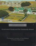 163/ Falkland Islands; Government House, 195CFKB - Falkland