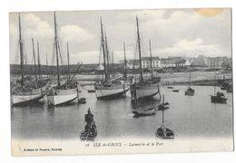 ILE DE GROIX (56) Locmaria Et Le Port Bateaux De Peche - Groix
