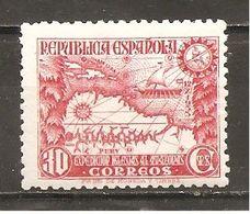 España/Spain-(MH/*) - Edifil  694 - Yvert  539 - 1931-50 Nuovi