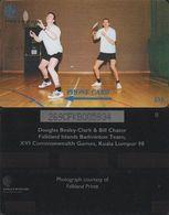 166/ Falkland Islands; Badminton Team, 269CFKB - Falkland