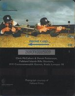 167/ Falkland Islands; Rifle Shooters, 269CFKD - Falkland