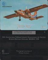 170/ Falkland Islands; Norman Defender, 275CFKC - Falkland