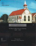 172/ Falkland Islands; St. Mary's Church, 289CFKA - Falkland