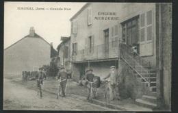 MAGNAL - Grande Rue (Epicerie-Mercerie) Pub Au Dos   Obf1818 - France