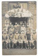 SAINT FONS ? (69) Carte Photo Fete Des Ouvriers Chinois De La Poudrerie Gros Plan - France