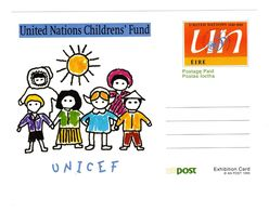 Irlande Eire Irland Irish United Nations Postal Stationery Entier - Interi Postali