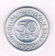 50  RUPIAH 1959  INDONESIE /4625/ - Indonesien