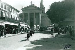 PHOTO GEORGE CAMARGUE CHEVAUX GARDIANS TAUREAUX - Saint-Remy-de-Provence