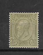 België  N° 47 - 1884-1891 Leopold II