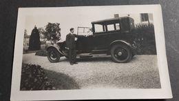 Ancienne Photo Automobile Ancienne , Photo Animèe - Automobiles