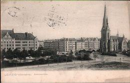! 1906 Alte Ansichtskarte Aus Leipzig Südviertel, Andreaskirche - Leipzig