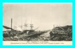 A852 / 189  Napoléon Ier Et Son Temps Débarquement En France ( Bateau ) - Bateaux