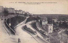 Angoulème, Vue Rise Du Rempart Du Midi Sur Le Rempart Desaix (pk70332) - Angouleme