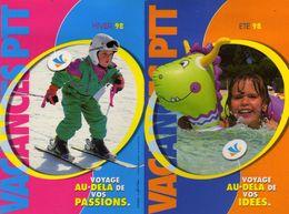 Vacances PTT été 98 Voyage Au-dela De Vos Idées 01 Bourg En Bresse - Grand Format : 1991-00