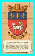 A852 / 487 76 - ROUEN Illustrateur M. JACQUEZ ( Illustrateur Blason ) - Rouen