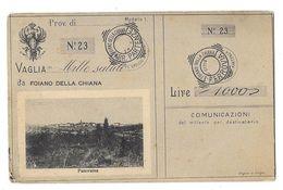 FOIANO DELLA CHIANA (Italie) Mille Saluti Panorama - Italia