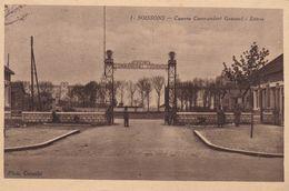 Soissons, Casrne Commandant Gouraud, Entrée (pk70335) - Soissons